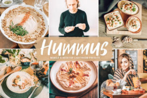 Hummus Mobile & Desktop Lightroom Presets