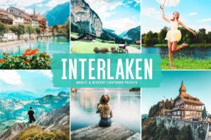 Interlaken Mobile & Desktop Lightroom Presets