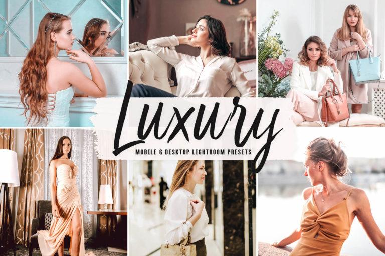 Preview image of Luxury Mobile & Desktop Lightroom Presets