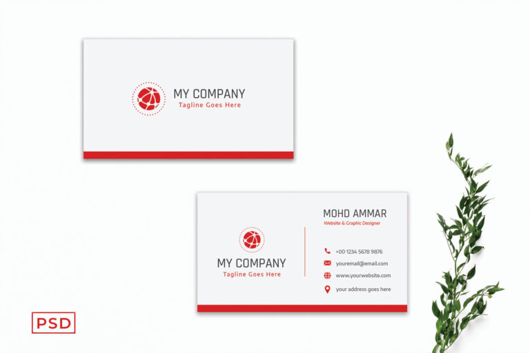 Preview image of Modern Corporate Business Card Template