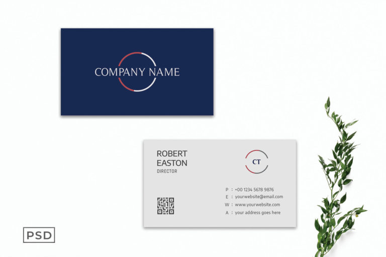 Preview image of Modern Elegant Business Card Template