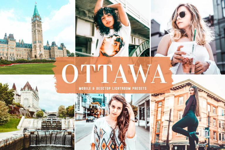 Preview image of Ottawa Mobile & Desktop Lightroom Presets