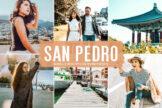 Last preview image of San Pedro Mobile & Desktop Lightroom Presets