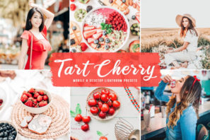 Tart Cherry Mobile & Desktop Lightroom Presets