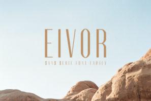 Eivor Sans Serif Font Family