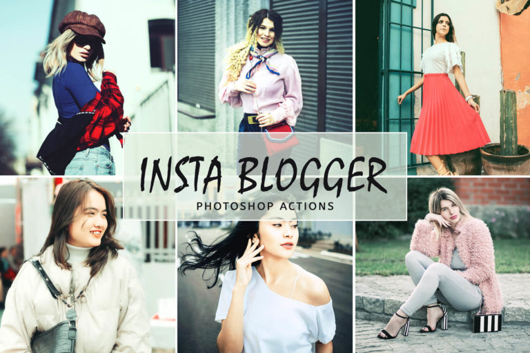 Preview image of Insta Blogger Photoshop Actions