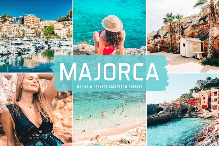 Preview image of Majorca Mobile & Desktop Lightroom Presets