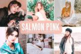 Last preview image of Salmon Pink Mobile & Desktop Lightroom Presets