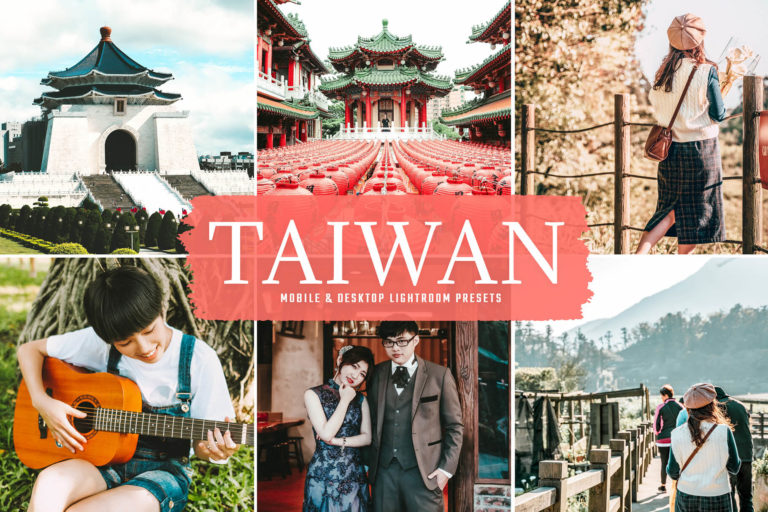 Preview image of Taiwan Mobile & Desktop Lightroom Presets