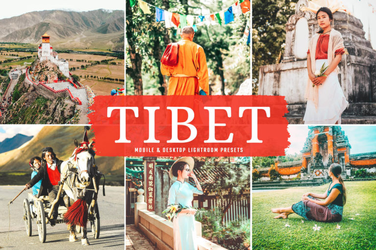 Preview image of Tibet Mobile & Desktop Lightroom Presets