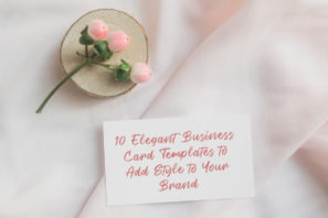 picture of 10 Elegant Business Card Templates to Add Style to Your Brand