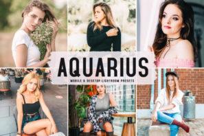 Aquarius Mobile & Desktop Lightroom Presets