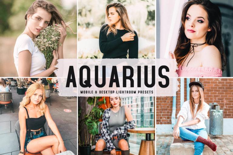 Preview image of Aquarius Mobile & Desktop Lightroom Presets