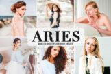 Last preview image of Aries Mobile & Desktop Lightroom Presets