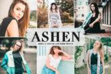 Last preview image of Ashen Mobile & Desktop Lightroom Presets