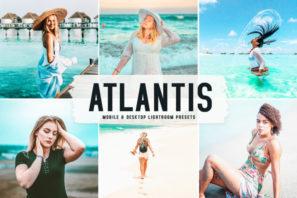 Atlantis Mobile & Desktop Lightroom Presets