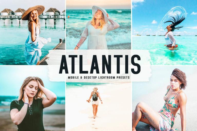 Preview image of Atlantis Mobile & Desktop Lightroom Presets