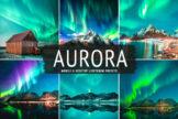 Last preview image of Aurora Mobile & Desktop Lightroom Presets