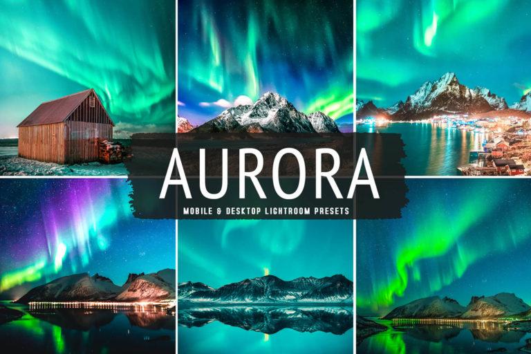 Preview image of Aurora Mobile & Desktop Lightroom Presets