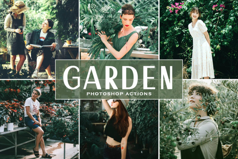 Preview image of Garden Photoshop Actions