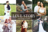Last preview image of Love Story Photoshop Actions