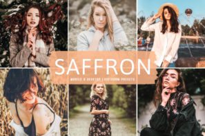 Saffron Mobile & Desktop Lightroom Presets