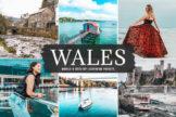 Last preview image of Wales Mobile & Desktop Lightroom Presets