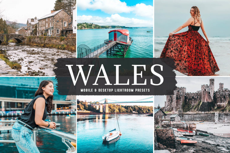 Preview image of Wales Mobile & Desktop Lightroom Presets