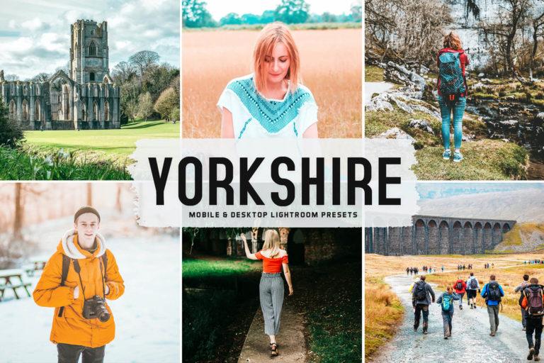 Preview image of Yorkshire Mobile & Desktop Lightroom Presets