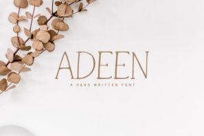 Adeen Handwritten Font