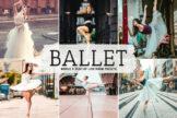 Last preview image of Ballet Mobile & Desktop Lightroom Presets