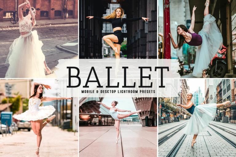 Preview image of Ballet Mobile & Desktop Lightroom Presets