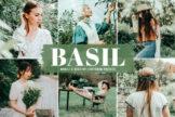 Last preview image of Basil Mobile & Desktop Lightroom Presets