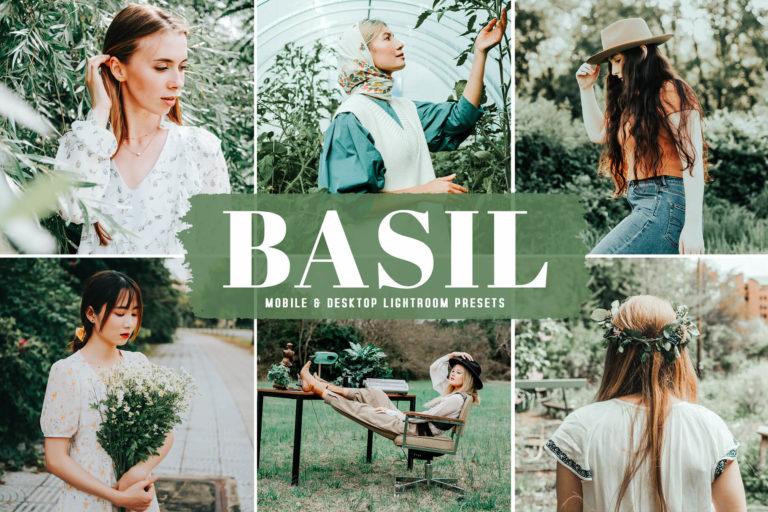 Preview image of Basil Mobile & Desktop Lightroom Presets