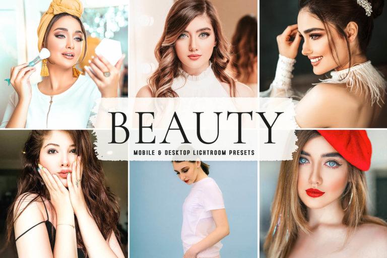 Preview image of Beauty Mobile & Desktop Lightroom Presets