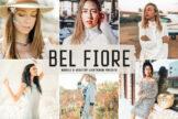 Last preview image of Bel Fiore Mobile & Desktop Lightroom Presets