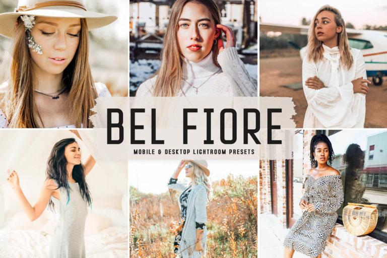 Preview image of Bel Fiore Mobile & Desktop Lightroom Presets