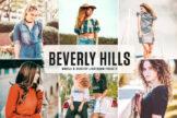 Last preview image of Beverly Hills Mobile & Desktop Lightroom Presets