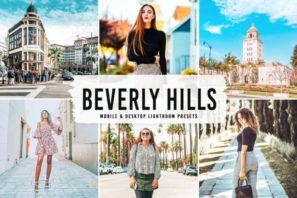 Beverly Hills Mobile & Desktop Lightroom Presets V2
