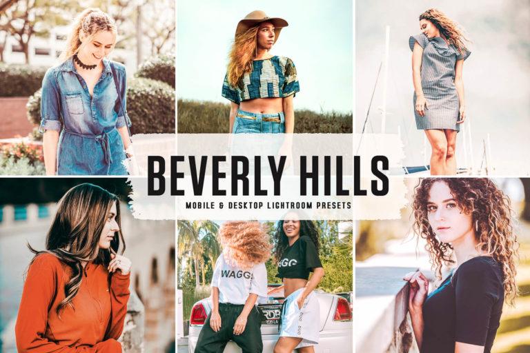 Preview image of Beverly Hills Mobile & Desktop Lightroom Presets