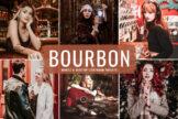 Last preview image of Bourbon Mobile & Desktop Lightroom Presets