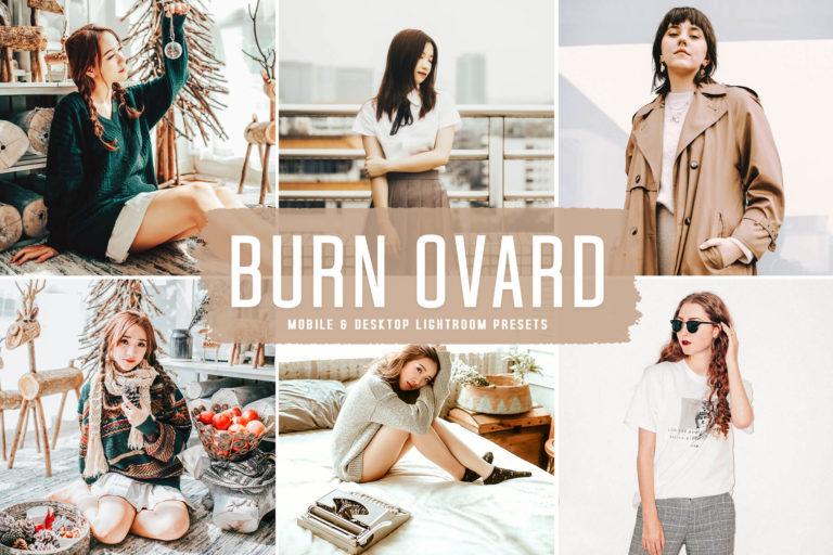 Preview image of Burn Ovard Mobile & Desktop Lightroom Presets