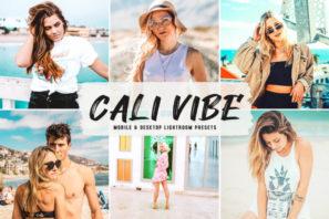 Cali Vibe Mobile & Desktop Lightroom Presets