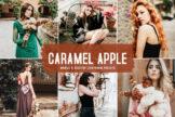 Last preview image of Caramel Apple Mobile & Desktop Lightroom Presets