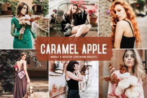 Caramel Apple Mobile & Desktop Lightroom Presets