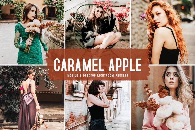 Preview image of Caramel Apple Mobile & Desktop Lightroom Presets