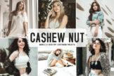 Last preview image of Cashew Nut Mobile & Desktop Lightroom Presets