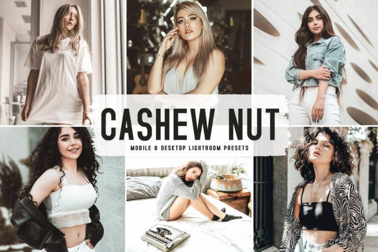 Preview image of Cashew Nut Mobile & Desktop Lightroom Presets