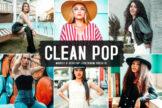 Last preview image of Clean Pop Mobile & Desktop Lightroom Presets