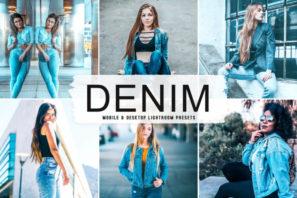 Denim Mobile & Desktop Lightroom Presets